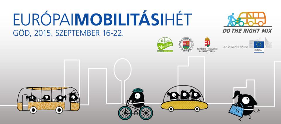 Európai Mobilitási Hét 2015 Göd