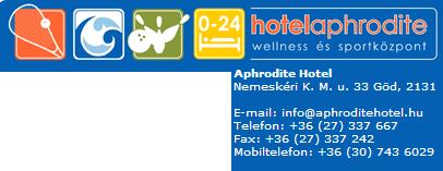 Aphrodité Hotel Göd