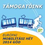 AZ Európau Mobilitási Hét 2014 Göd támogatói